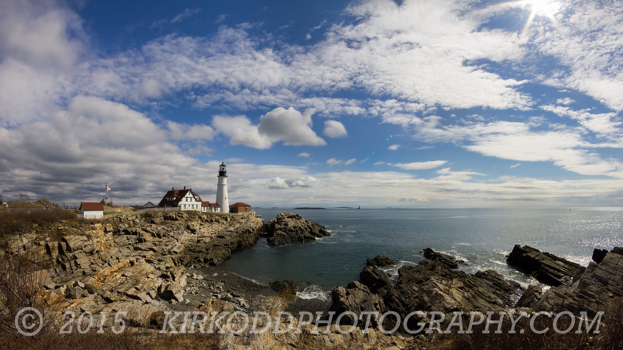 Portland Head Light Seascape