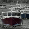 Lobster Boat Selective Color