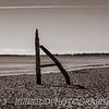 Driftwood Monument, Ferry Beach, Maine