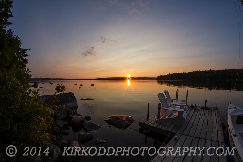 Branch Lake Sunrise