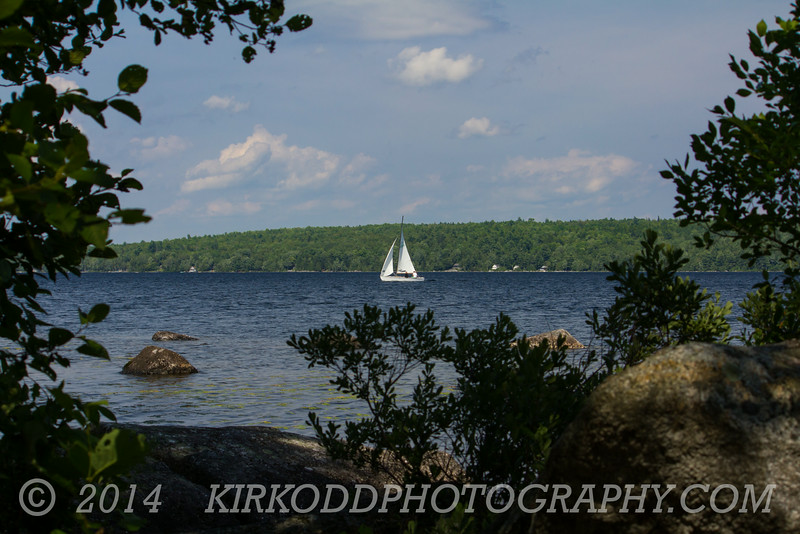 Sailboat on Branch Lake