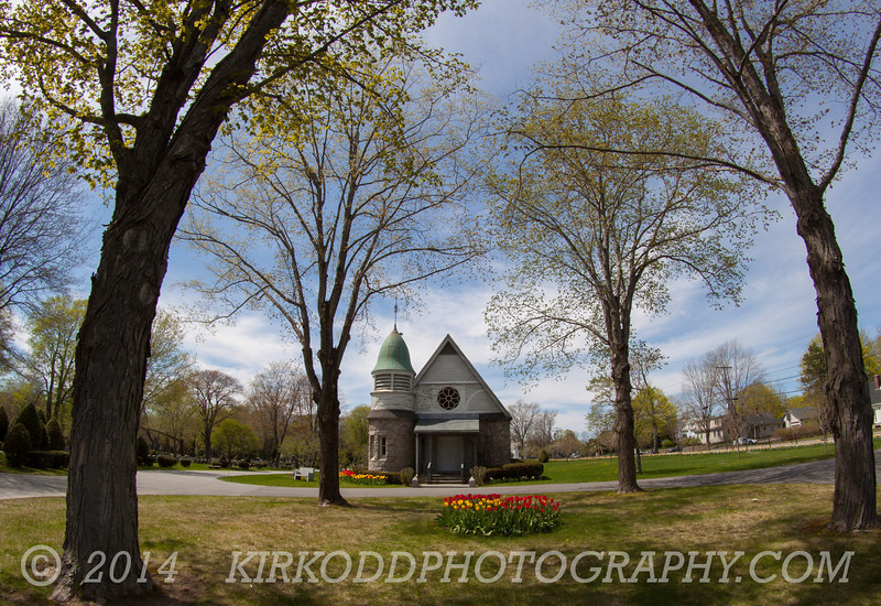 Chapel Grounds at Laurel Hill Cemetery in Saco, ME