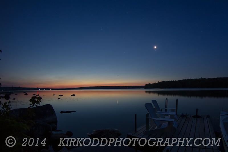 Dawn at Branch Lake