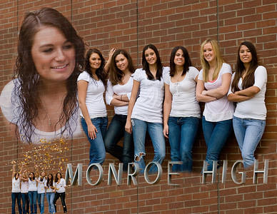 A montage of niece Emily and her high school friends, all 2009 graduates of Monroe Catholic High School.