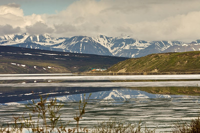 Summit Lake in Summer