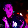 Dominic Lalli of Big Gigantic. Cleveland Grog Shop 2012-02-26