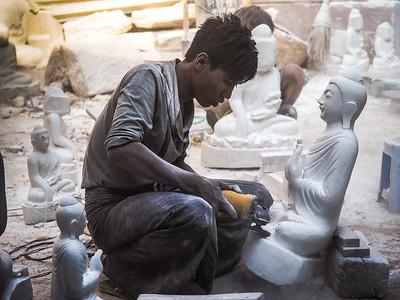 Mandalay Stone Mason