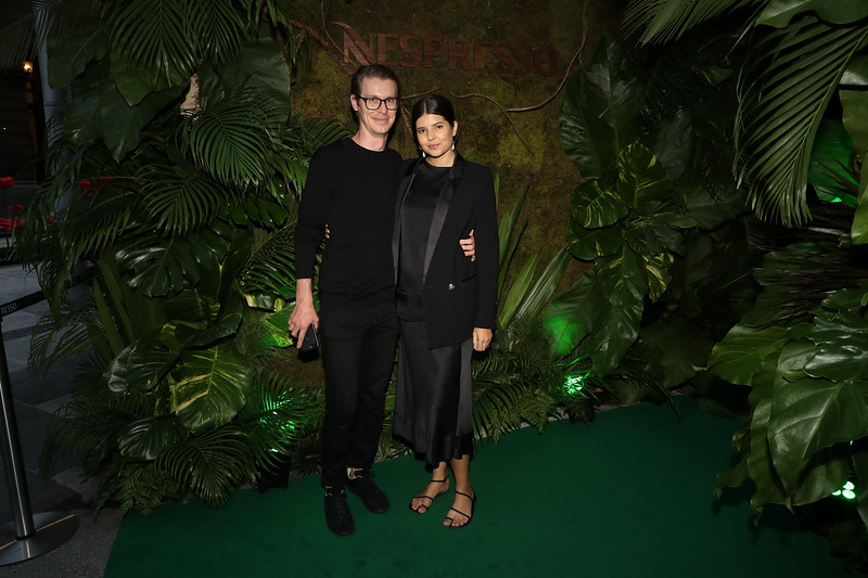 ROWAN PETERSON AND TALISA SUTTON ATTEND THE NESPRESSO GEORGE ST BOUTIQUE OPENING, PHOTOGRAPH BY SCOTT EHLER