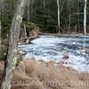 Frozen Pond in Upstate New York