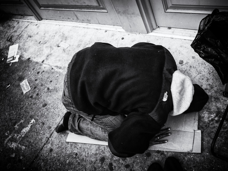 Prayer Time on Canal Street