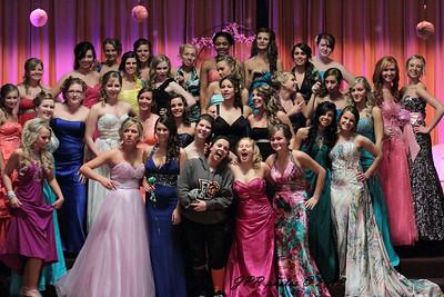 2012 NHS Prom Fashion Show & Rehearsal