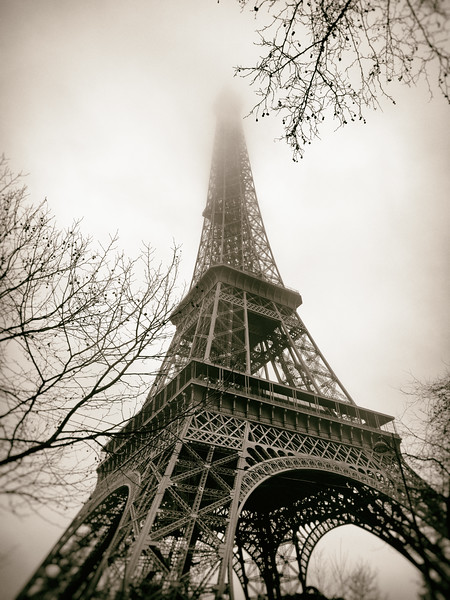 Vintage Eiffel Tower 3