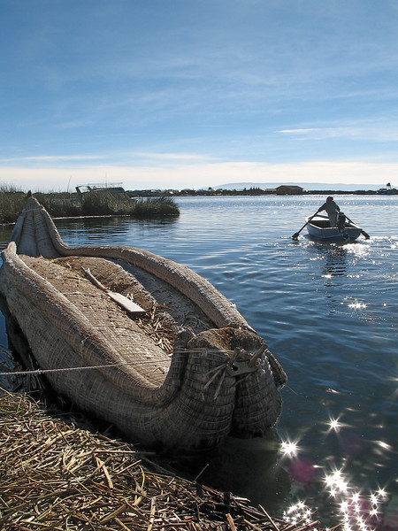 Traditional Reed Boat