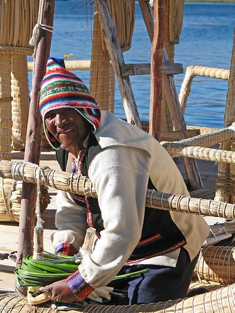 Peruvian Boat Builder