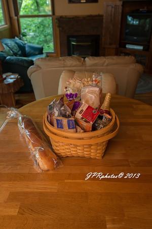 Breakfast basket we ordered thru Melissa.