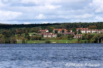View acroos lake to the NE