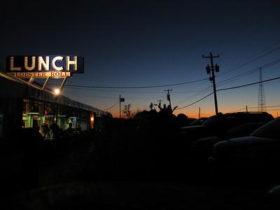 LUNCH, Amagansett, New York, 2007