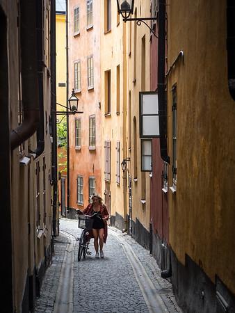 Stockholm Alleyway