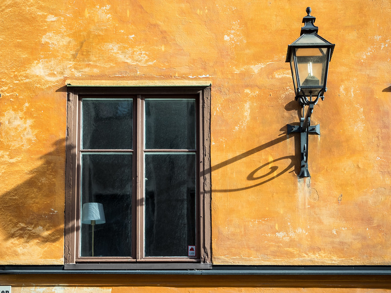 Two Lamps in Stockholm