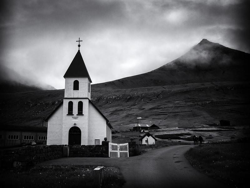 The Church at Gjógv
