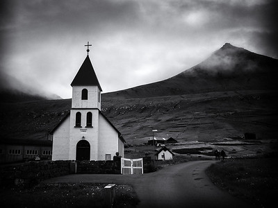 The Church at Gjógv
