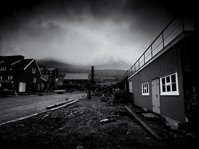 Abandoned  Norwegian whaling station, Við Áir