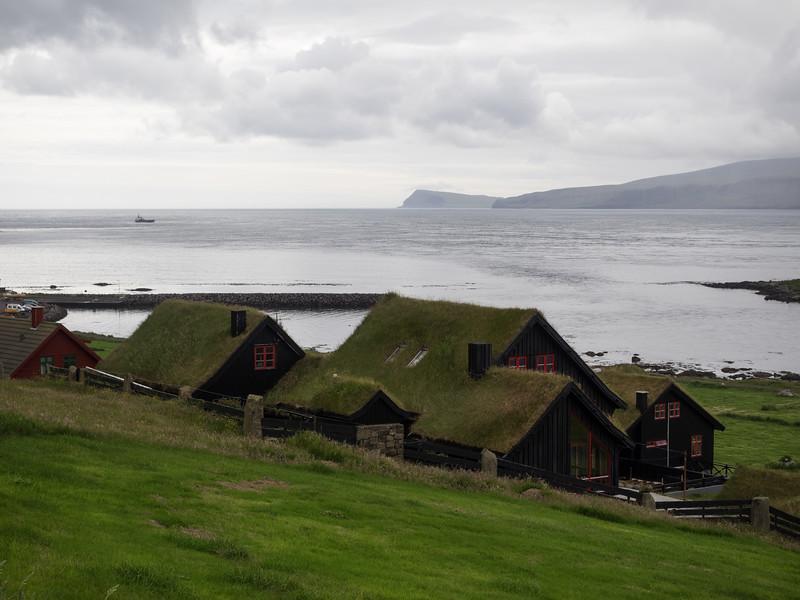 The village of Kirkjubøur