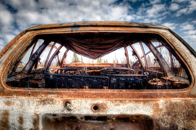 Rusted junk