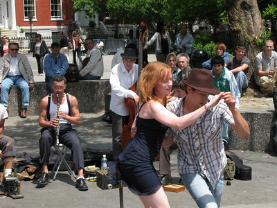 Jazz Band, Washington Square Park, Greenwich Village, New York City, 2007