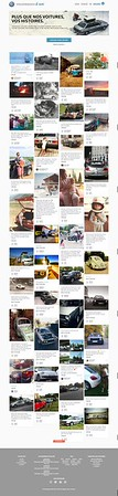 Volkswagen auto website