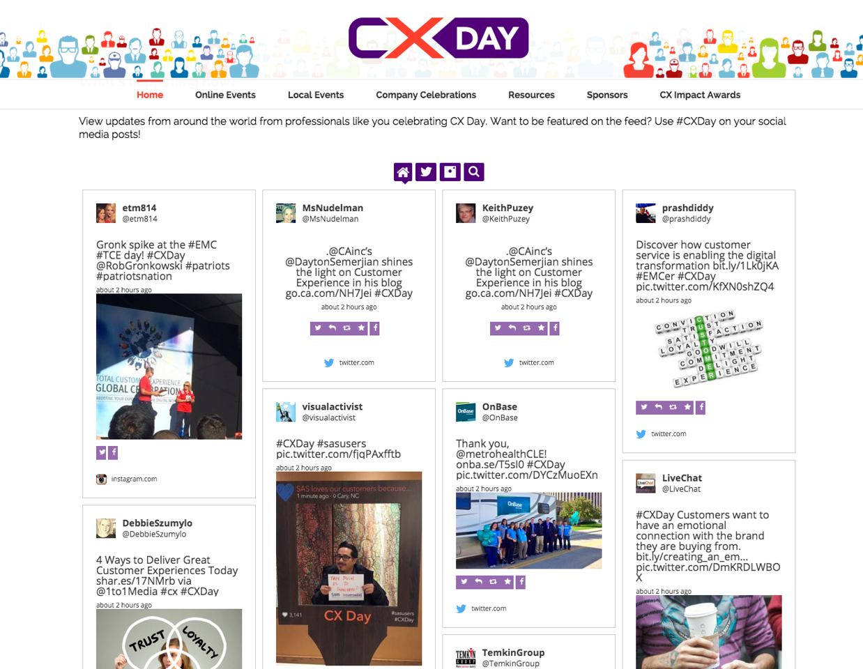 #CXDAY