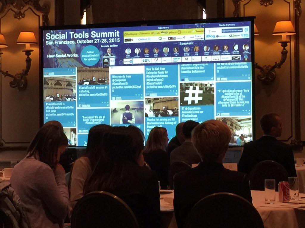 Social Tools Summit 2015