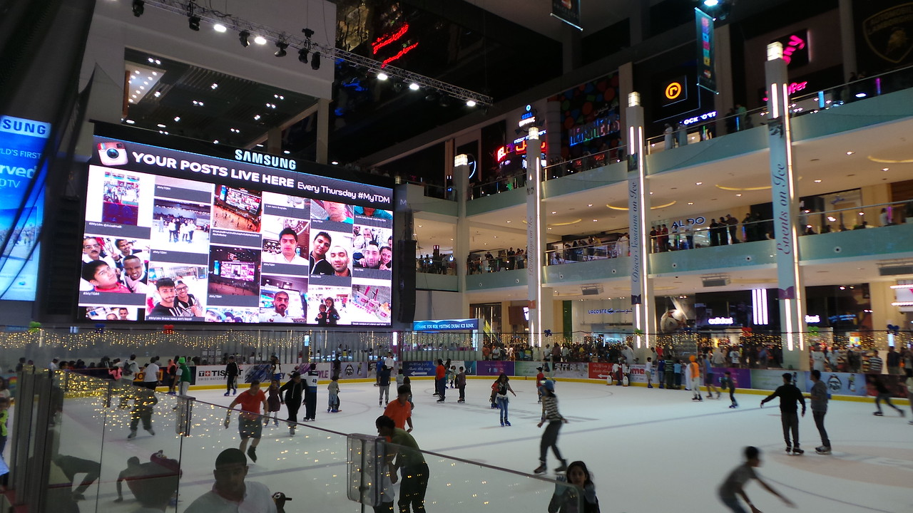 Dubai Mall Social Wall