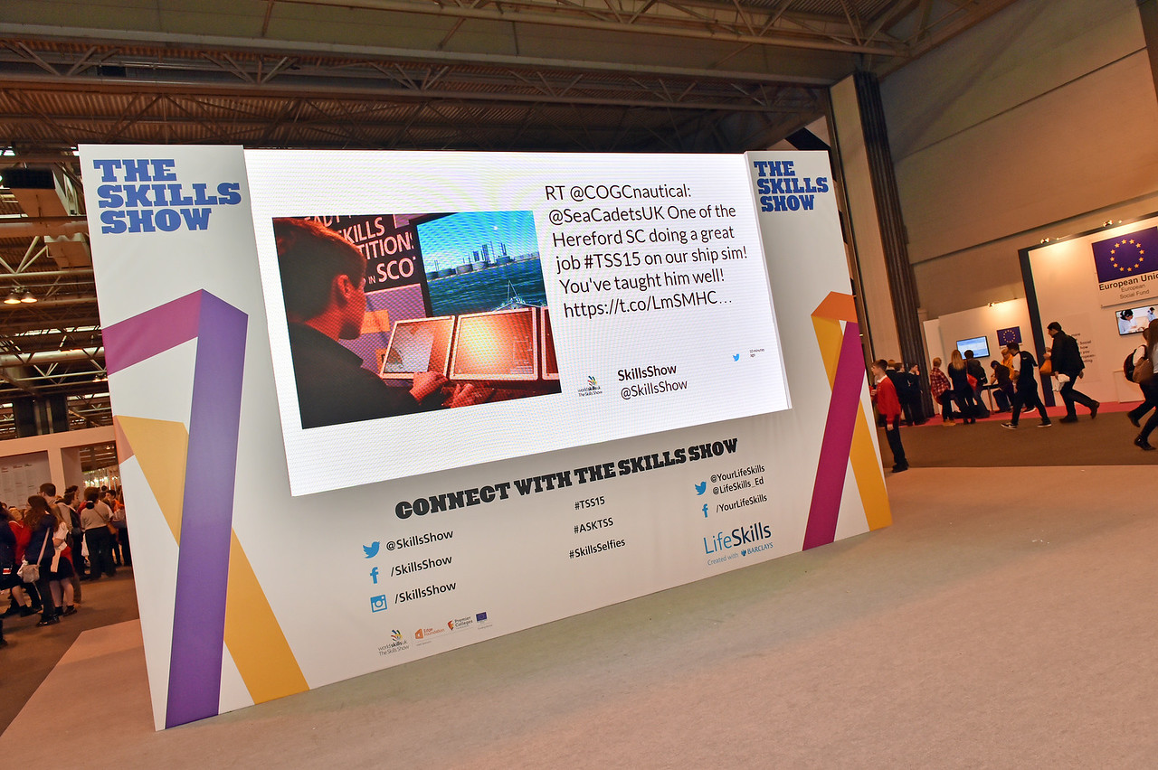 Find a Future (Non Profit / Events / Display) The Skills Show