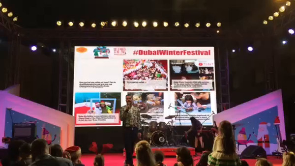 Winter Festival - #DubaiWinterFestival