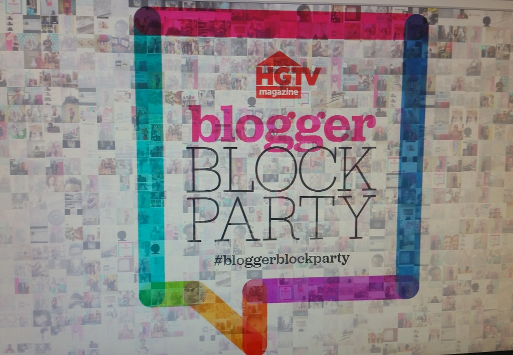 HGTV Blogger Block Party