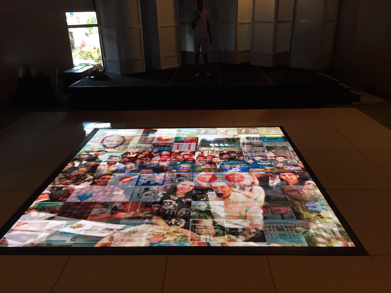 Wedtech maui floor screen- mosaic