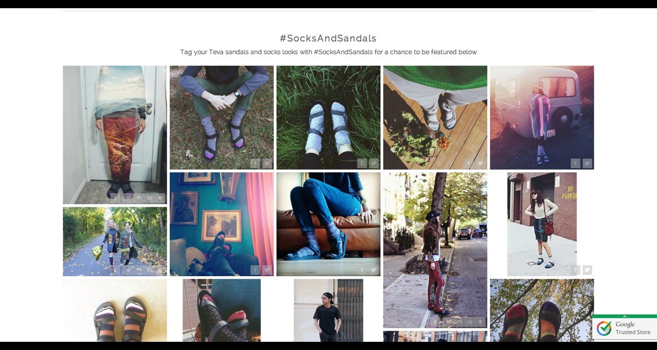 Socks and Sandals Style Guide + Lookbook Teva #SocksandSandals