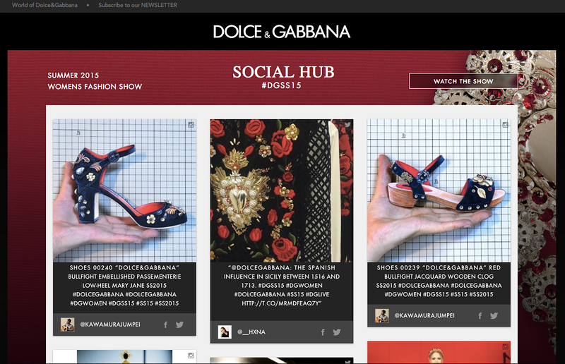 Dolce and Gabana