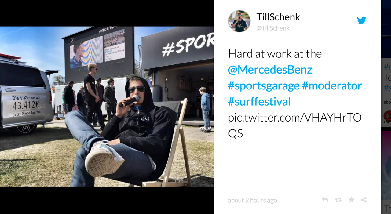 Mercedes + World Windsurfing Global tour