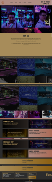 C - The Cranleigh U - Social Hub  T - Horizontal slider  I - Hospitality E - N/A S - Main web page + TintMix & TINTPlayer TintMix & TINTPlayer - Video to come