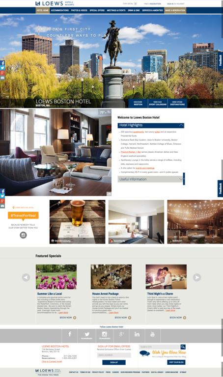 Boston Luxury Hotel | Loews Boston Hotel