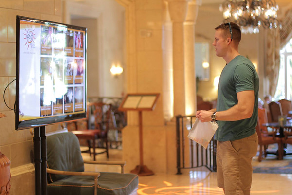 Ritz-Carlton Hotel Lobby