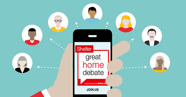 I'm helping shape new standards for homes. You can too - join the #GreatHomeDebate, in partnership with @BritishGas.