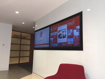 Icsc office display