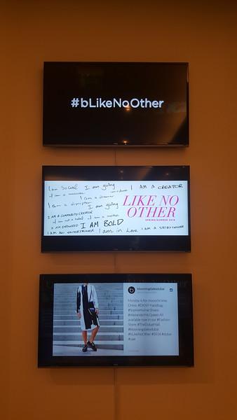 Bloomingdales tv digital displays retail fashion
