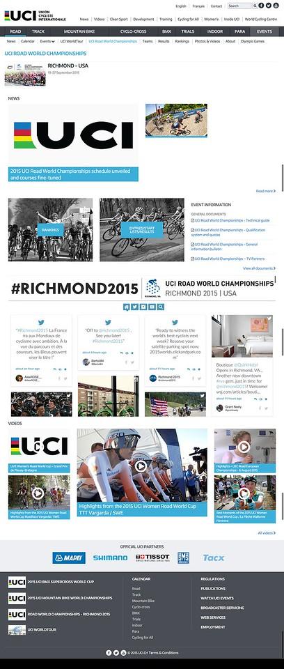 UCI Road World Championships