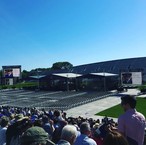 Northwestern's commencement