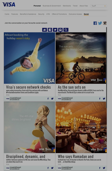 Visa UAE Social