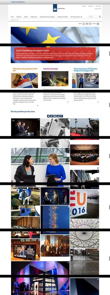 Dutch Gov - Tall Photo - Dutch Presidency European Union